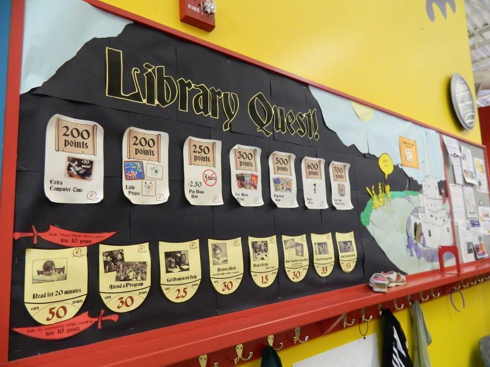 Libraray Quest