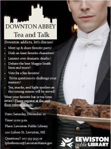 Downton Abbey Tea and Talk