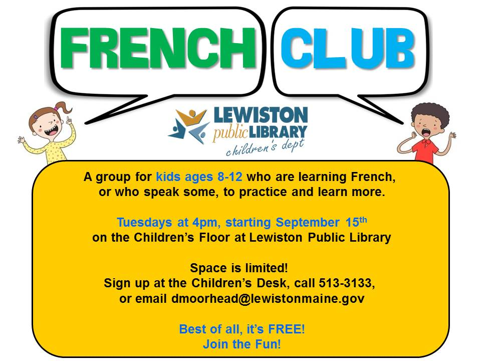 French Club Flyer jpeg version